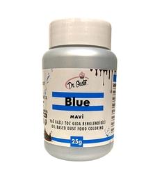 Dr.Gusto - Yağ bazlı toz boya Mavi; 25 gr