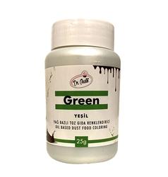 Dr.Gusto - Yağ bazlı toz boya Yeşil; 25 gr