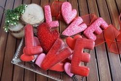 Seker Sugar - Glow Dust yenilebilir sim Kırmızı; 7 gr (1)