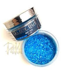 Seker Sugar - Glow Dust yenilebilir sim Mavi; 25 gr