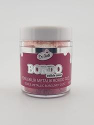 Dr.Gusto - Yenilebilir Metalik toz BORDO; 10 gr