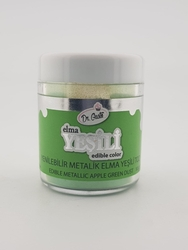 Dr.Gusto - Yenilebilir Metalik toz ELMA YEŞİL; 10 gr