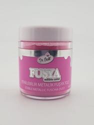 Dr.Gusto - Yenilebilir Metalik toz FUŞYA; 10 gr