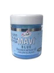 Dr.Gusto - Yenilebilir Metalik toz MAVİ; 10 gr