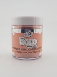Dr.Gusto - Yenilebilir Metalik toz ROSE GOLD; 10 gr