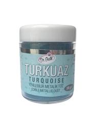Dr.Gusto - Yenilebilir Metalik toz TURKUAZ; 10 gr